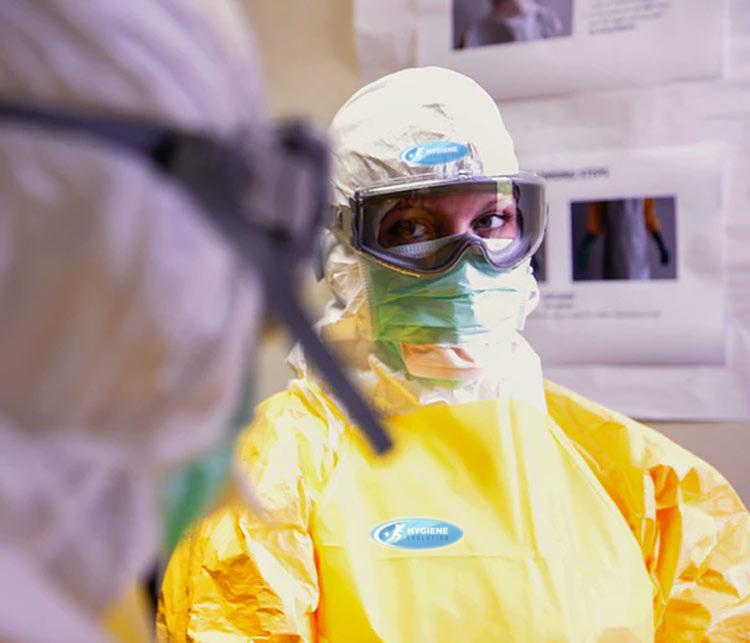 Désinfection des entreprises contre le coronavirus